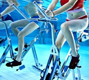 Aquatic Static Cycling